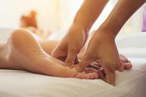 Massage réflexologie plantaire