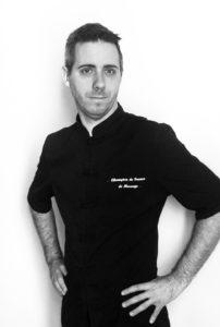 Yannick Jouan-Jan, champion de France de massage et praticien bien-être